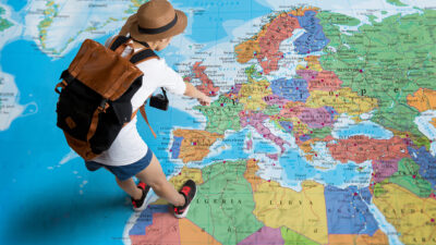 Going abroad to learn the language